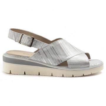 sandalen damen sangiorgio 070212 argento 7052