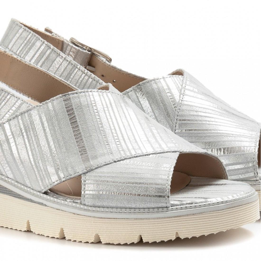 sandals woman sangiorgio 070212 argento 7052