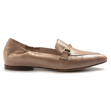 loafers woman rossano bisconti 13828 giove sabbia 7090