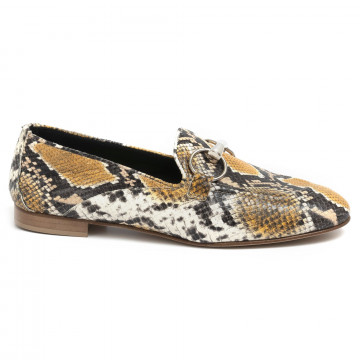 loafers woman poesie veneziane jja12giallo 7098