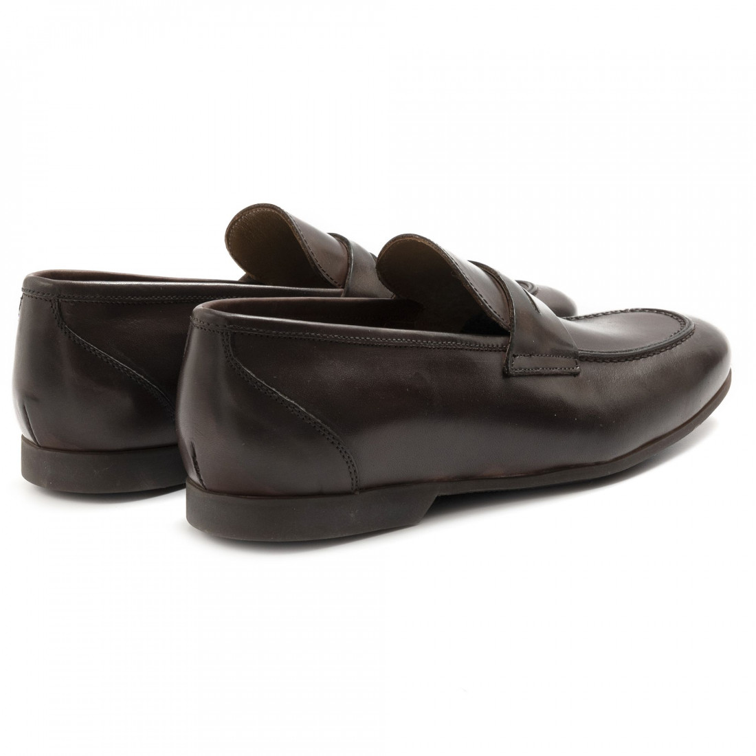 loafers man sangiorgio car01vitello t moro 6855