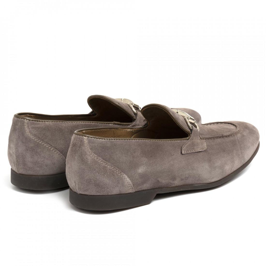 loafers man sangiorgio car06camoscio fango 7106