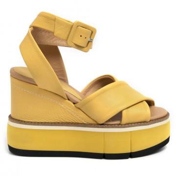 sandalen damen paloma barcelo eilleenyellow zante 7109