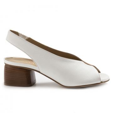 sandalen damen calpierre ds3010visos bianco 7110