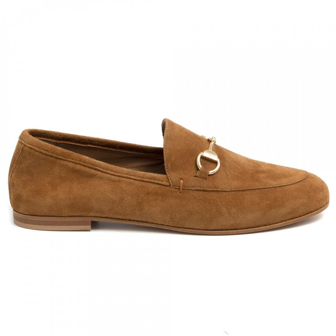 loafers woman les tulipes 601cam cuoio 7118