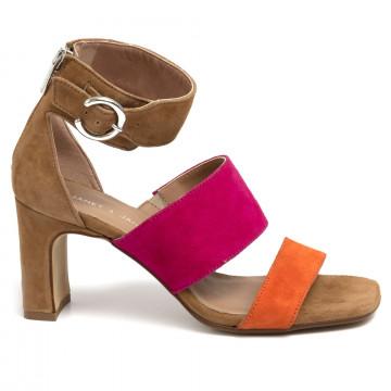 sandalen damen janet  janet 45357ermes 704 7114