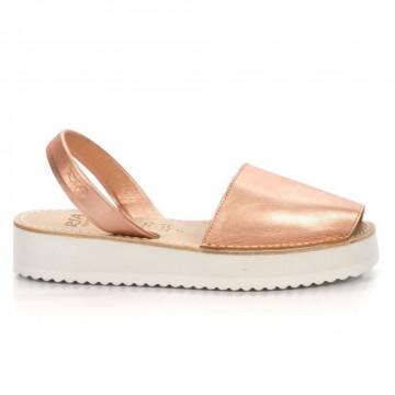 sandals woman ria menorca 27300metal magnesio 7030