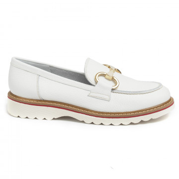 loafers woman alfredo giantin 6634cervo bianco 7189