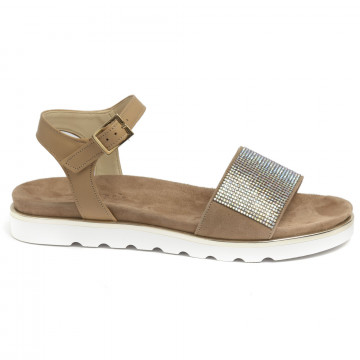 sandals woman nu n 248vitello champagne 7191