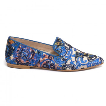 loafers woman ballerina e548tuc blu 7245