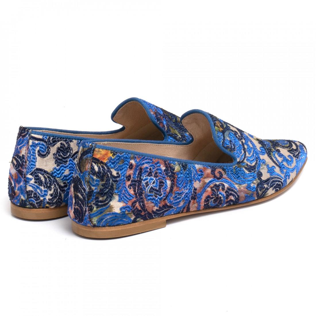 loafers woman ballerina e548tuc blu 7245