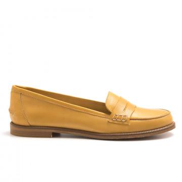 loafers woman sangiorgio 7340crust giallo 4409