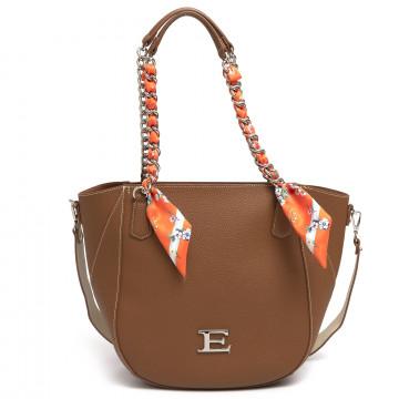 shoulder bags woman ermanno scervino 984eba cuoio 7262