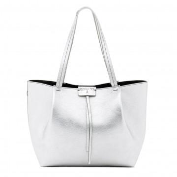 handbags woman patrizia pepe 2v8895 a4u8ss298 silver 7273