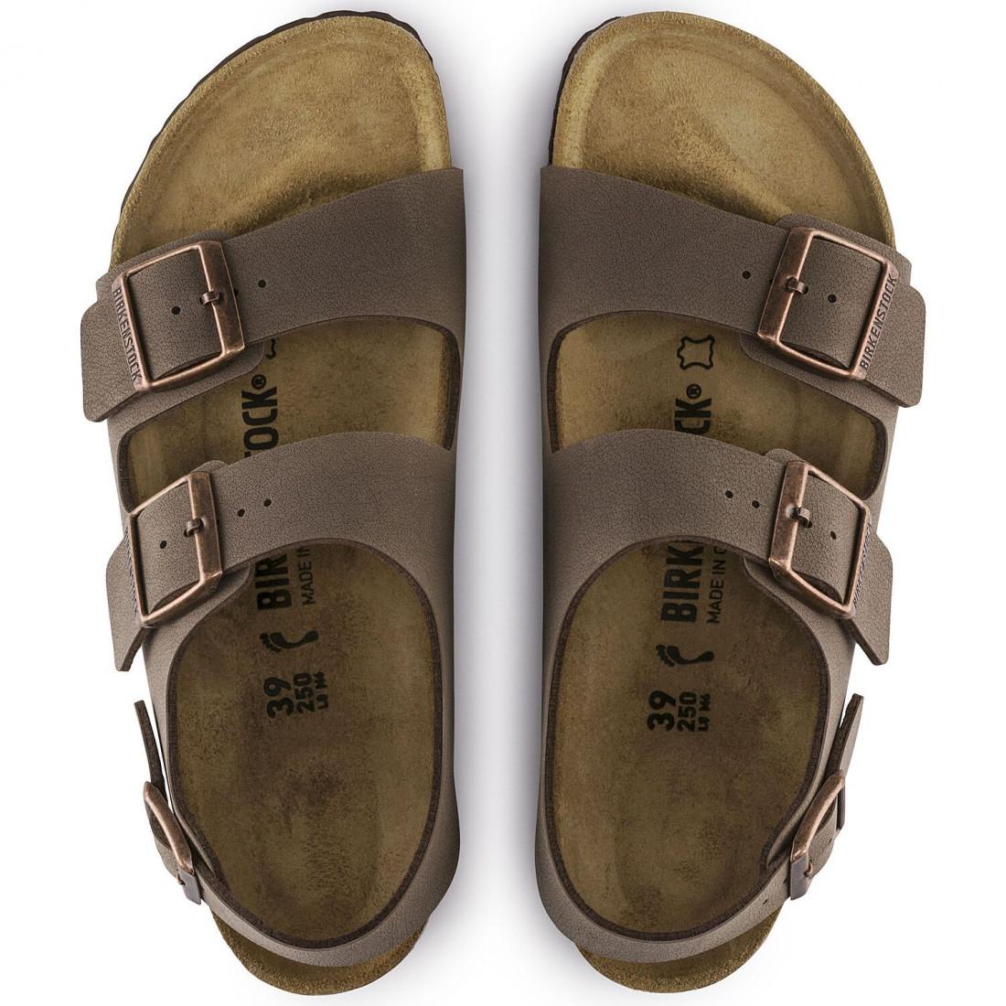 sandals man birkenstock milano m0634503 7295