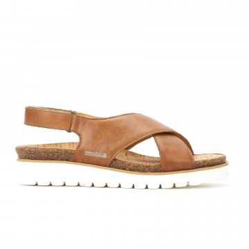 sandals woman mephisto tallyp5118609 steve 2635 hazelnut 3332