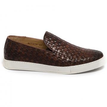 slipper herren brecos 8672vitello brandy 7332