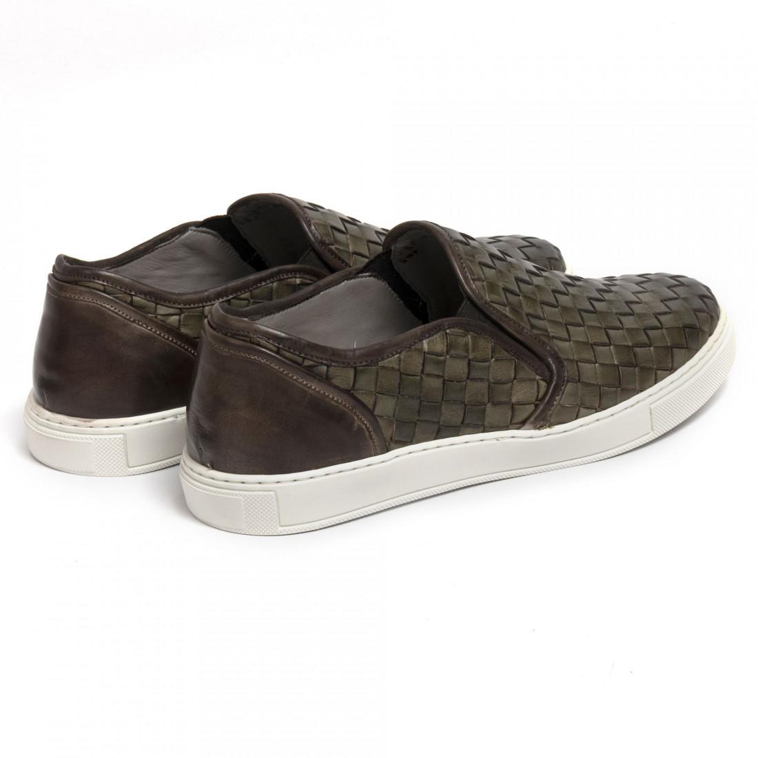 slipper herren brecos 6047vitello verde 7333