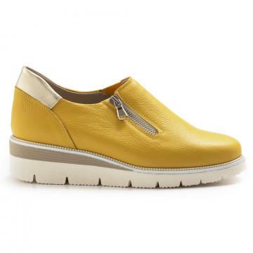 slipper damen sangiorgio 672177 giallo 7046