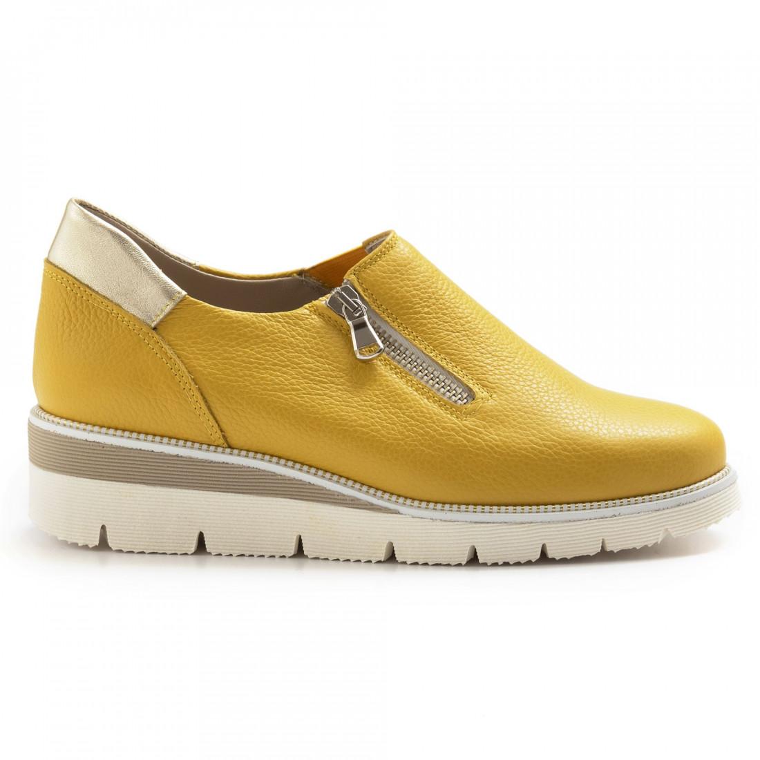 slip on woman sangiorgio 672177 giallo 7046