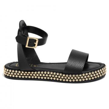 sandals woman cecile 2344cervo nero 7282