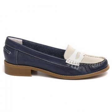 loafers woman sangiorgio 2593laura blu marmo 7342