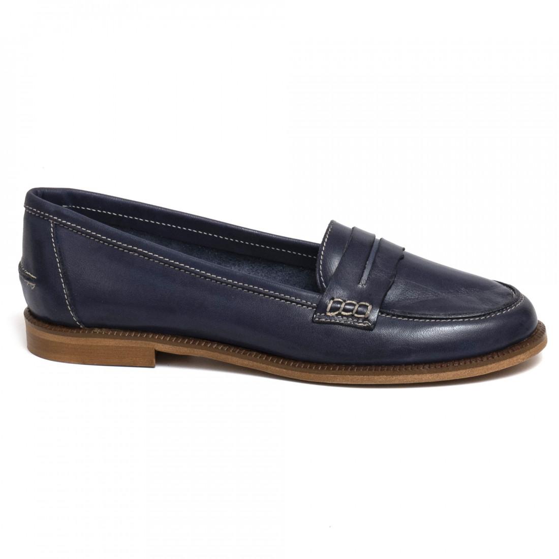 loafers woman sangiorgio 7340madrid blu 7257