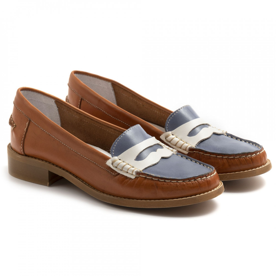 loafers woman sangiorgio 2593laura cuoio jeans 7343