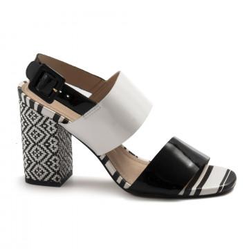sandals woman tabita 1336738vern preto  7329