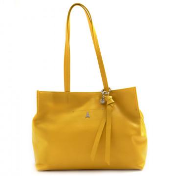 shoulder bags woman patrizia pepe 2v9154 a4u8y380 tiger yellow 7348