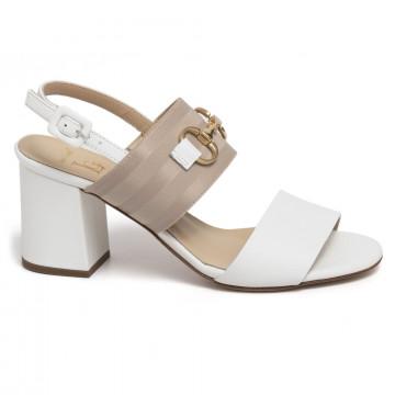 sandals woman luca grossi e903svik bianco 7365