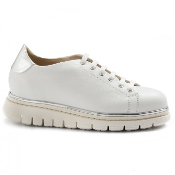 lace up woman luca grossi e535vik bianco  7044