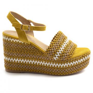 sandalen damen fiorina  s144481 gulty giallo 7370