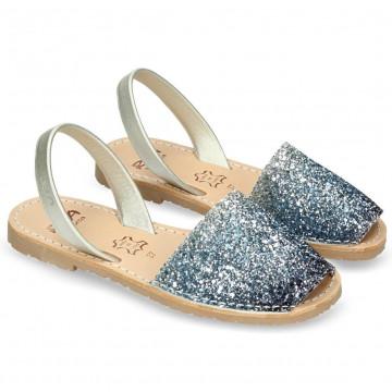 sandalen damen ria menorca 27224glitter illus c07 7308