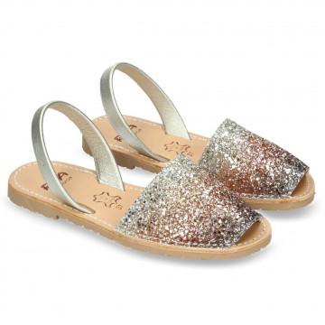 sandalen damen ria menorca 27224glitter illus c19 7309