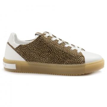 sneakers damen borbonese 516vit bianco 5002 6964