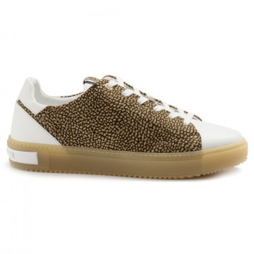 sneakers woman borbonese 516vit bianco 5002 6964