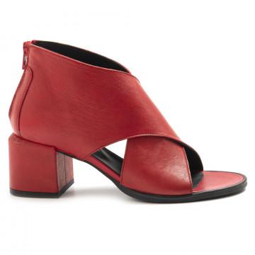 sandals woman le bohemien t5020vit lavato rosso 6909