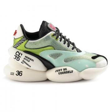 sneakers woman cljd 6f0310102 green 6597