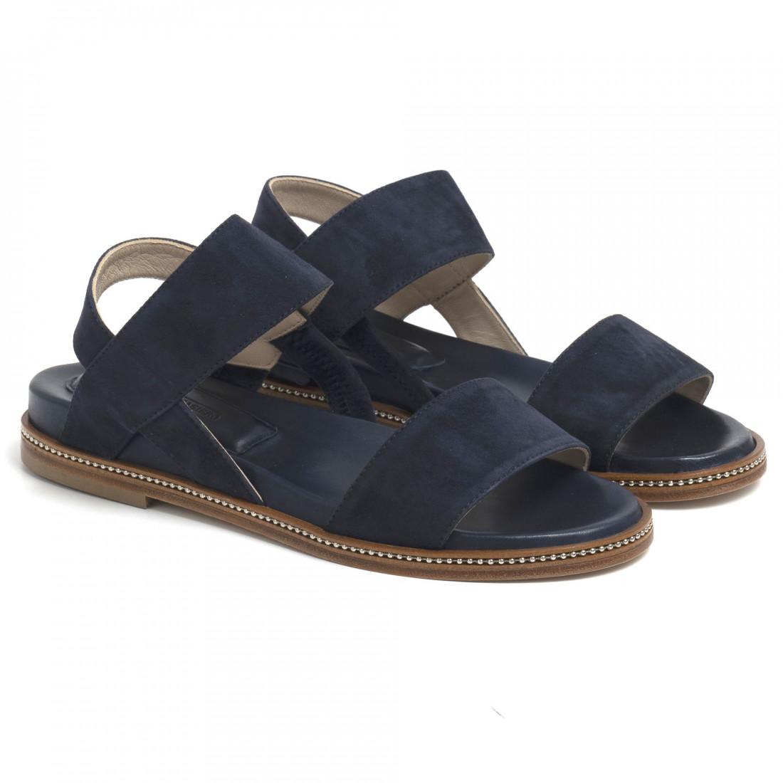 sandals woman lorenzo masiero 210062camoscio abyss 7107