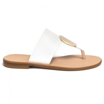 sandalen damen cecile 2374vacch bianco 7340