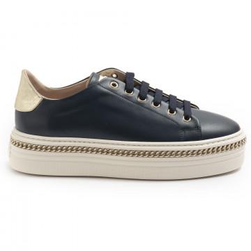 sneakers woman stokton 674dvitello navy blu 7434