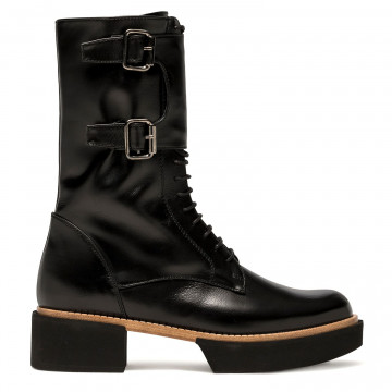 military boots woman paloma barcelo samsunblack 7453