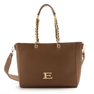 shoulder bags woman ermanno scervino 1031eba cuoio brown 7472