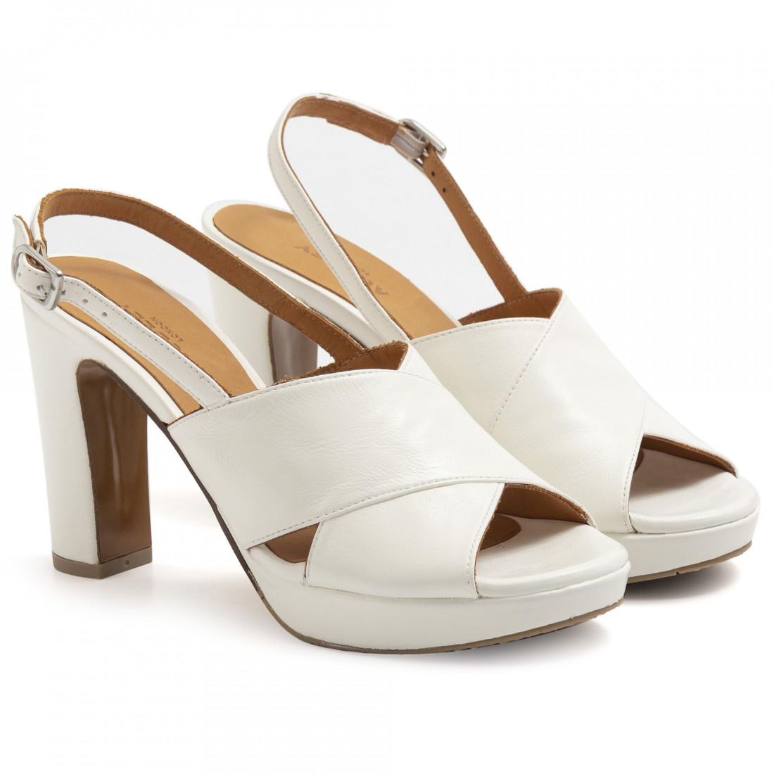 sandalen damen audley 21541off white nappa 7415