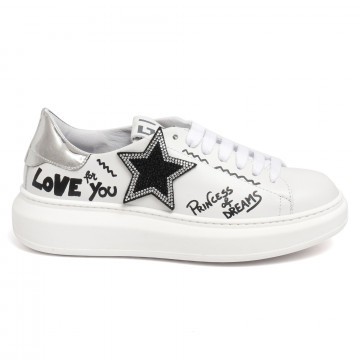 sneakers damen gio g409astella strass 7373
