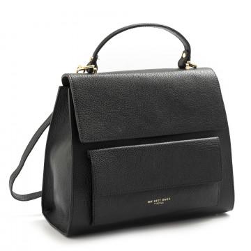 handbags woman my best bags myb6033nero 7569