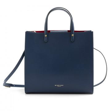 handtaschen damen my best bags myb6015blu 7572