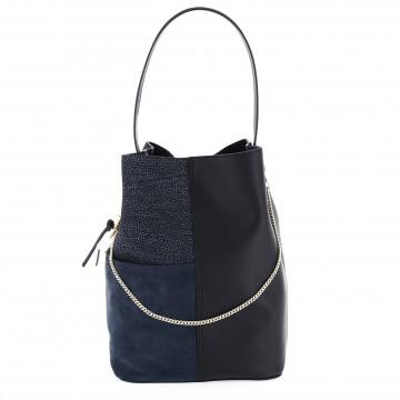 shoulder bags woman borbonese 924473749w44 7641