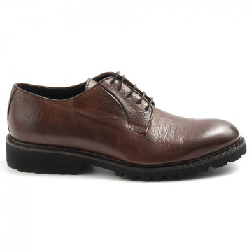 lace up man sangiorgio 8500bufalo marrone 7710